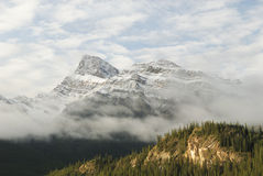 Morning in Canadian Rockies Stock Photo