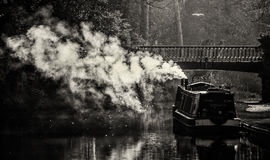 Morning on the canal Stock Photography