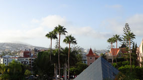 Morning on Canary Islands. Landscape of the Canary Islands Royalty Free Stock Photos