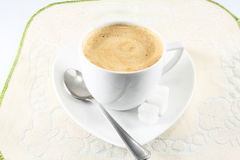 Morning cappuccino Stock Photo