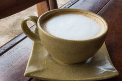 Morning  cappuccino Coffee Royalty Free Stock Images