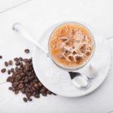 Morning cappuccino Stock Photography