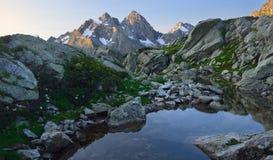 Morning in Caucasus Stock Image