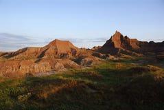 Morning at Cedar pass Stock Image