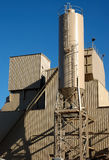 Morning at Cement Plant 2 Royalty Free Stock Images