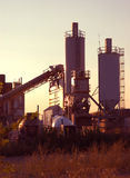 Morning at Cement Plant Stock Photography