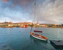 Morning at central marina of Eilat Royalty Free Stock Photo