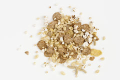 Morning cereal mix Stock Photo