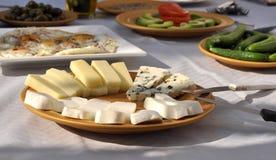 Morning cheese Stock Photo