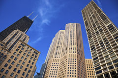 Morning in Chicago Stock Image