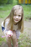 Morning in child`s camp Royalty Free Stock Photos