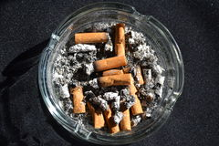 Morning cigarette Royalty Free Stock Photo