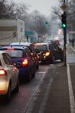 Morning city traffic Royalty Free Stock Photo