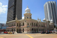 Morning city view of Kuala Lumpur on national day Royalty Free Stock Photo