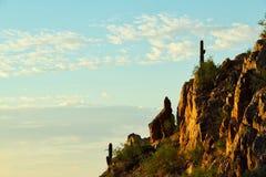 Morning Cliffs Stock Photo