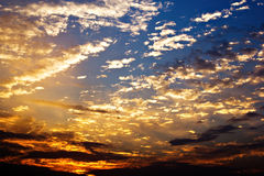 Morning Clouds Royalty Free Stock Photos