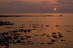 Morning Coastal View Stock Images