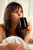 Morning coffe #9 Royalty Free Stock Image