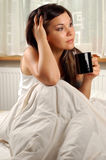 Morning coffe #9 Royalty Free Stock Photography
