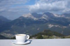 Morning coffe cup Stock Photos