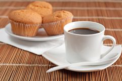 Morning coffee Royalty Free Stock Photos