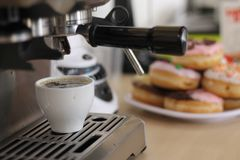 Morning coffee. The best morning coffee stock photography