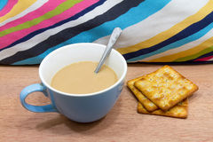 Morning Coffee and Biscuit Royalty Free Stock Images