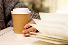 Morning coffee. Stock Image