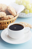 Morning coffee with a cookies Royalty Free Stock Images