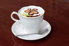 Morning coffee cup Stock Photography