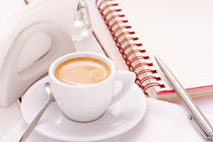 Morning coffee cup Royalty Free Stock Photo