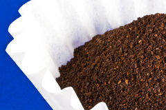 Morning Coffee Grounds Stock Image