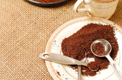 Free Morning Coffee Grounds Royalty Free Stock Image - 14030896