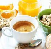 Morning Coffee,Healthy Breakfast Stock Photo