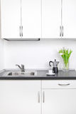 Morning coffee, kitchen interior Stock Photography