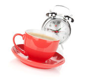 Morning coffee time Royalty Free Stock Photography