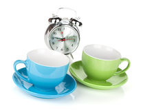 Morning coffee time Royalty Free Stock Photos