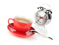 Morning coffee time Royalty Free Stock Images