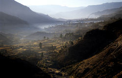 Morning on Colca Valey Stock Image