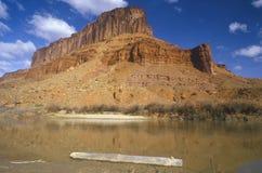 Morning on Colorado River, southern UT Stock Photo