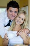 Morning Couple Stock Image