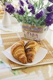 Morning Croissants Royalty Free Stock Images