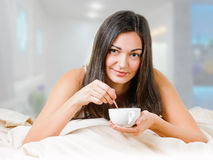 Morning cup Royalty Free Stock Photo