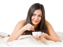 Morning cup Stock Image