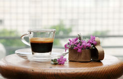 Morning cup of coffee Stock Image
