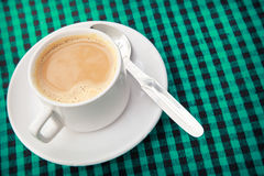 Morning cup of fresh coffee Stock Photography