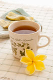 Morning cup of tea Royalty Free Stock Photos