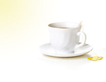 Morning cup of tea Stock Image