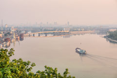 Morning Dnieper Stock Photography