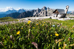 Morning in the Dolomites, Italy Royalty Free Stock Photo